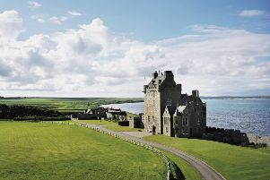 Ackergill Tower in Caithness is to become  the private home of a millionaire minister from the United States. PIC: Creative Commons/Sian Abrahams.