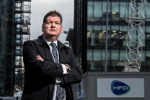 Stephen Lewis, managing director of HFD Property Group, is also a member of the British Council for Offices committee in Scotland. Picture: John Devlin