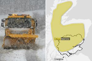 Further warnings for snow and ice have been issued by the Met Office.