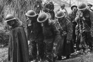 French and British troops taken prisoner by the Germans at Dunkirk, during World War II, May 1940. (Photo by Hulton Archive/Getty Images)