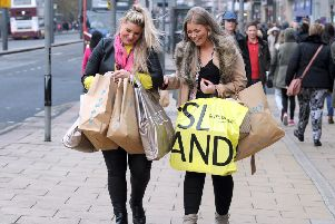 Shoppers on Princes Street, but how many retail units may be about to leave?