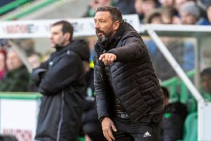 Aberdeen manager Derek McInnes says 'I'm not thinking about positions'. Picture: SNS.