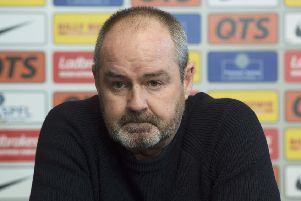 Steve Clarke wants people in authority to 'sort out' Scotland's refereeing situation. Picture: SNS.