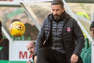 Aberdeen manager Derek McInnes proposes that referees who have made bad mistakes do not get big games. Picture: SNS