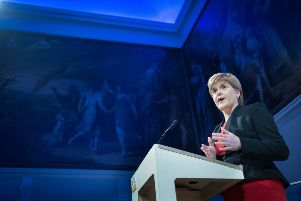 First Minister Nicola Sturgeon is in the US this week. Picture: Stefan Rousseau WPA - Pool/Getty Images