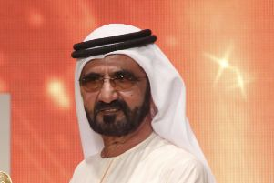 Dubai's ruler, Sheikh Mohammed bin Rashid Al Maktoum, has had his plans for the Scottish Highlands estate approved. Picture: AP Photo/Jon Gambrell