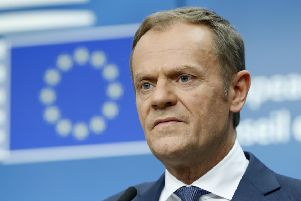 European Council president Donald Tusk. Picture: Reuters/Francois Lenoir