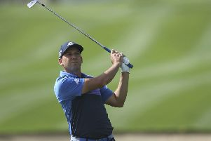Sergio Garcia was disqualified from the Saudi International. Picture: Kamran Jebreili/AP
