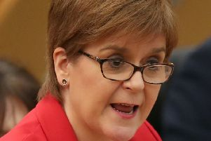 First Minister Nicola Sturgeon. Picture: Jane Barlow/PA Wire