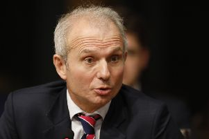 David Lidington.   . Pic - Andrew Cowan/Scottish Parliament