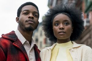 Stephan James as Fonny and KiKi Layne as Tish star in Barry Jenkins' If Beale Street Could Talk