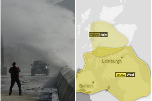 Storms are likely to batter much of Scotland over the next 48 hours. Picture: SWNS