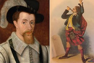 James VI doggedly pursued his policy to 'civilise' the Highlands and Islands and weaken the clan system. PICS: Creative Commons.