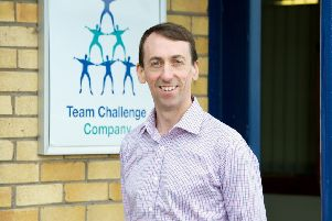 Gerard Crowley, co-director at Fife-based Team Challenge Company. Picture: Contributed