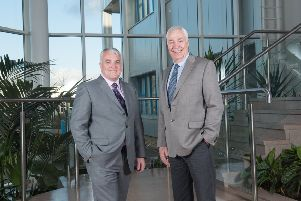 L to R: David Dobbins and Martyn Mulcahy have been appointed to the board of the biotech. Picture: Julie Howden