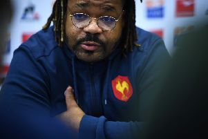 France have recalled outside centre Mathieu Bastareaud to face England. Picture: Anne-Christine Poujoulat/AFP/Getty Images