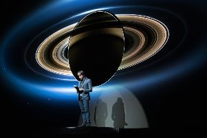 Prof Brian Cox's Universal: Adventures in Space and Time World Tour comes to Scotland this month