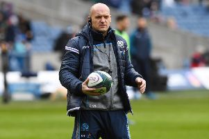 Scotland head coach Gregor Townsend. Pic: SNS/Paul Devlin