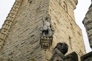 A William Wallace Monument statue, Stirling. Picture: Getty Images/iStockphoto