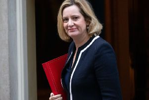 Amber Rudd, Secretary of State for Work and Pensions. Picture by Mark Thomas / i-Images