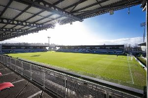 A general view of St Mirren's Simple Digital Arena home. Picture: SNS Group