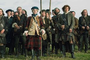 """The characterisation of Bonnie Prince Charlie in Outlander as an """"effete weakling""""  has been described as a """"travesty"""". PIC: Starz."""