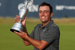 The DP World Tour Championship in Dubai will offer a bigger first prize this year than the one Francesco Molinari earned for becoming Open champion at Carnoustie last summer. Picture: Jane  Barlow/PA