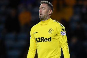 Rangers reacted after Allan McGregor saw his appeal over a two-game ban turned down. Picture: SNS