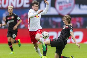 Oliver Burke reckons his Celtic team-mates are better than his opponents in the Bundesliga and EPL. Picture: Getty Images