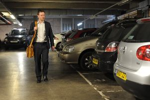 Glasgow and Edinburgh city councils want to introduce a workplace parking levy. Picture: Dan Phillips