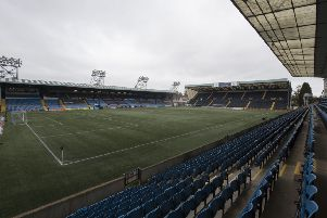 Kilmarnock's artificial pitch is a different type to the one at Livingston which Dundee manager Jim McIntyre says is unacceptable. Picture: SNS