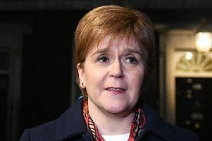 First Minister Nicola Sturgeon. Picture: PA Wire