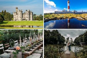 You'd be hard pushed to find more enchanting spots to get married than at these Scottish locations