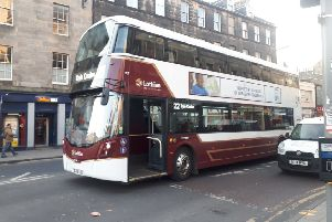 The incident took place on Great Junction Street. Picture: EEN