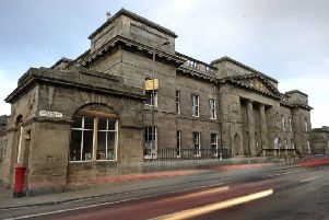 The Custom House in Leith's Commercial Street. Picture: Neil Hanna