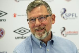 Hearts manager Craig Levein. Pic: SNS/Ross MacDonald