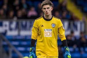 Ayr United goalkeeper Ross Doohan kept a clean sheet. Pic: SNS/Ross Macdonald