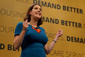 Jo Swinson's appointment as deputy leader of the Lib Dems was uncontested - but she has been warned landing the top job will be tougher. Picture: PA