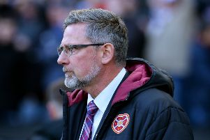 Craig Levein admitted the manner of the defeat was hard to take. Picture: Getty Images