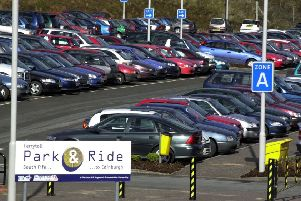 Parking at the popular Inverkeithing Park and Ride at Ferrytoll is getting difficult during summer months