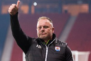 Connah's Quay boss Andy Morrison was in a forthright mood after the semi-final win over Edinburgh City. Picture: SNS Group