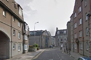The incident took place on St Clair Street, Aberdeen. Picture: Google.