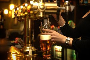 A welcoming pint at the local pub is becoming endangered as almost two pubs close in Scotland every week