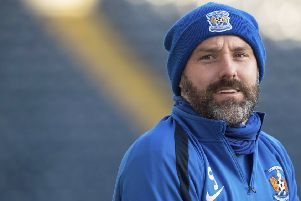 Target: Kilmarnock striker Kris Boyd. Picture: SNS Group