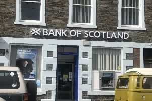 The group has been restructuring its Bank of Scotland network which has seen several branches closed. Picture: Louise Kerr