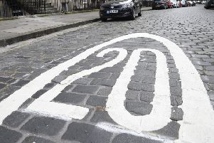 A bill would make 20mph the default speed limit in residential streets. Picture: Greg Macvean