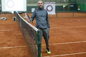 Brazilian Leonardo Azevedo will be head coach at the tennis academy at the University of Stirling which opens in August.''Picture: Jeff Holmes