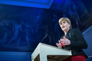 As UK politics goes into meltdown, there's silence from SNP leader Nicola Sturgeon on the way ahead