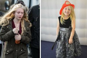Alesha's mother, Georgina Lochrane (left), said: 'Words cannot express just how devastated I am to have lost my beautiful, happy, smiley wee girl.