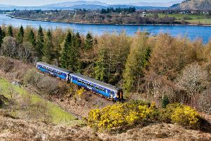 Arthur Cowie said the overhaul by ScotRail made it harder for passengers with mobility problems to board and manoeuvre their wheelchairs on the Glasgow to Oban and Mallaig route. Picture: ScotRail/Dennis Hardley